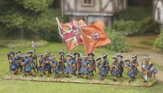 Dutch Guards / painted by El Mercenario, flag by John Hutchinson.