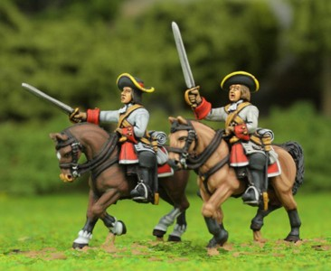 Late 17th Century Cavalry / painted by El Mercenario.