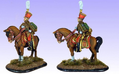 28mm Napoleonic French - General Fournier (FNP17 & S2/LT1B) / painted by Bob Cater.