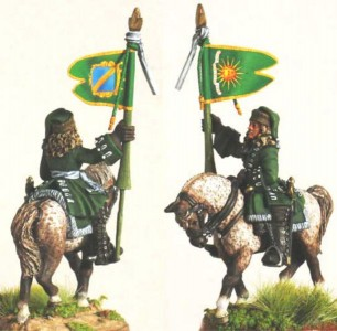 28mm WSS French Dragoon Standard Bearer pic2 (FSC31 & LT2B) / painted by Luciano Leni