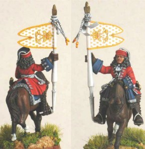 28mm WSS French Dragoon Standard Bearer, pic3 (FSC31 & LT2B) / painted by Luciano Leni