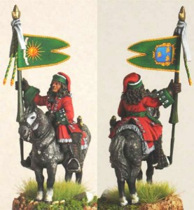 28mm WSS French Dragoon Standard Bearer, pic6 (FSC31 & LT1A) / painted by Luciano Leni