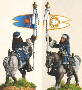 28mm WSS French Dragoon Standard Bearer, pic7 (FSC31 & LT2A) / painted by Luciano Leni