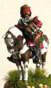28mm WSS French Dragoon Drummer, pic1 (FSC32 & LT1B) / painted by Luciano Leni