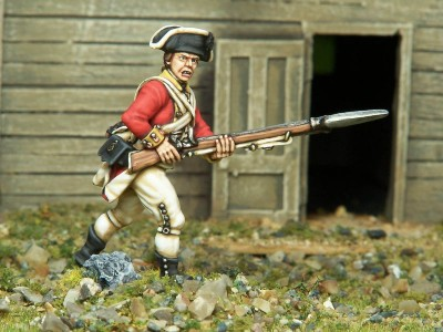 40mm AWI British Centre Company / painted by Kevin Dallimore