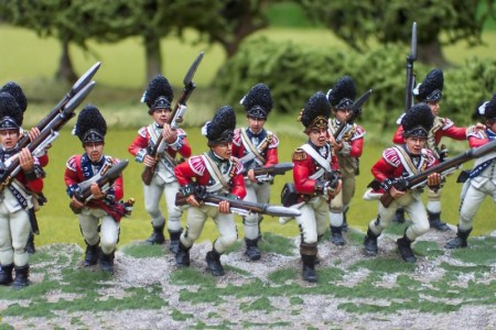 40mm AWI British Grenadiers / painted by John Morris - Mystic Spirals