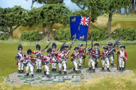 40mm AWI British Infantry / painted by John Morris - Mystic Spirals