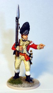40mm AWI British Grenadier Sergent - 40A38 / painted by John Morris - Mystic Spirals