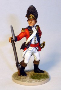 40mm AWI British Grenadier Officer - 40A39 / painted by John Morris - Mystic Spirals