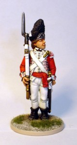 40mm AWI British Grenadier Sergent - 40A40 / painted by John Morris - Mystic Spirals