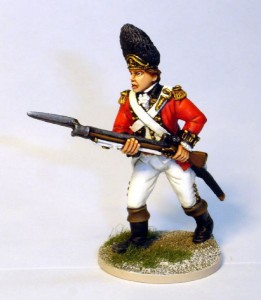 40mm AWI British Grenadier Officer - 40A41 / painted by John Morris - Mystic Spirals