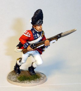 40mm AWI British Grenadier Sergent - 40A42 / painted by John Morris - Mystic Spirals
