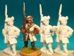 Fusilier standing, musket upright French Infantry Front Rank Figurines