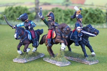 28mm Napoleonic French - Lasalles last charge (NAP1) / painted by Ian Stables