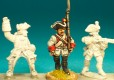 Mounted Officer (Horse required) German Infantry & Command 18th Century Front Rank Figurines