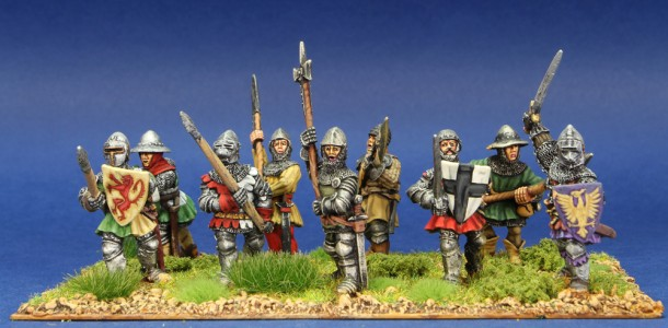 28mm HYW Infantry group