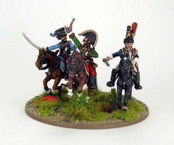 28mm French - The last charge of Lasalle, image 1. Painted by Sascha Herm.