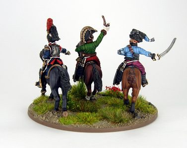 28mm French - The last charge of Lasalle, image 2. Painted by Sascha Herm.