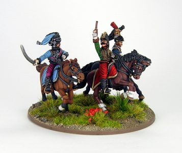 28mm French - The last charge of Lasalle, image 3. Painted by Sascha Herm.