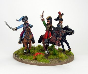 28mm French - The last charge of Lasalle, image 4. Painted by Sascha Herm.
