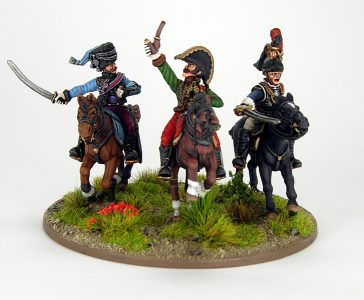 28mm French - The last charge of Lasalle, image 5. Painted by Sascha Herm.