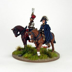 28mm French - Marshall Soult and ADC, image 2. Painted by Sascha Herm.