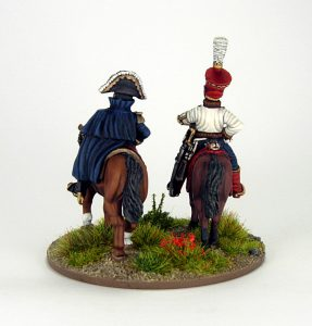 28mm French - Marshall Soult and ADC, image 3. Painted by Sascha Herm.