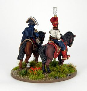 28mm French - Marshall Soult and ADC, image 4. Painted by Sascha Herm.