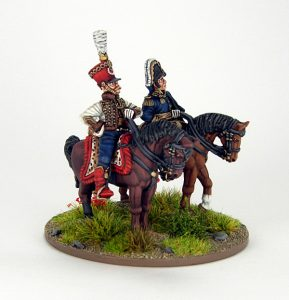 28mm French - Marshall Soult and ADC, image 5. Painted by Sascha Herm.