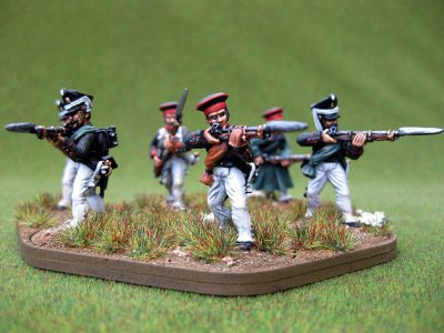 28mm Napoleonic Russian Infantry. Painted by Colin from Charlie Foxtrot Models