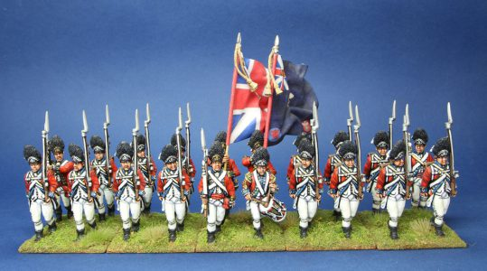 40mm AWI British, Royal Welsh Fusiliers. Flags by Jon Hutchinson