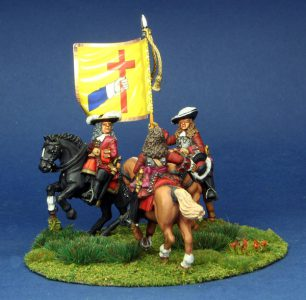 28mm Late 17th Century. Duke of Tyrconnell and General.