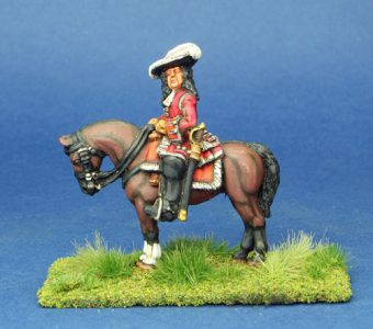 28mm Late 17th Century General, painted by Phil Robinson
