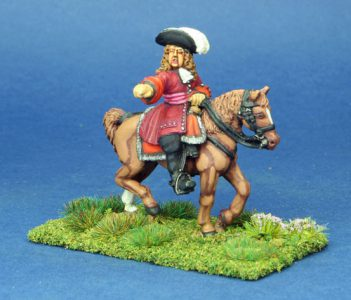 28mm Late 17 Century General. painted by Phil Robinson.