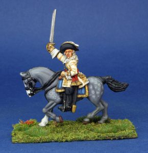 28mm Late 17 Century General. painted by Phil Robinson