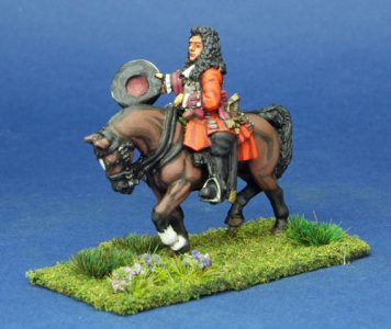 28mm Late 17th Century General. painted by Phil Robinson