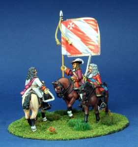 28mm Late 17th Century. Duke of Schomberg and General.